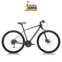 SEPEDA POLYGON HEIST 5.0 700C 30SPEED CHARCOAL URBAN BIKE