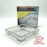 SHINIL GLASS ASHTRAY JZ-101-1 Asbak