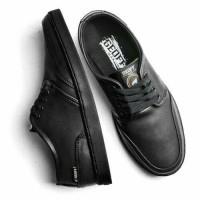 Sepatu geoff max original 100 % AUTHENTIC leather black all