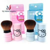 Kuas Blush On / Finishing Make Up Brush Dorong Hello Kitty Pendek