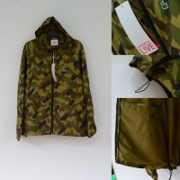Lacoste Live Camouflage Hoodie Zip Jacket Original