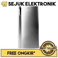 LG GN-INV304SL Lemari Es / Kulkas 1 Pintu Freezer -171 Liter