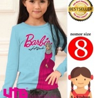 Barbie hijab,Kaos Muslimah Anak,kaos Anak,Baju Muslim,Kaos Perempuan 8