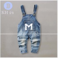 Celana Jeans Kodok Overall Anak Laki-laki M Pakaian Anak Cowok Branded