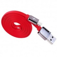 Remax King Kong Lightning Cable 1m for iPhone 6/6Dan/5/5s Red