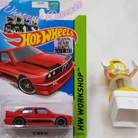 Hot Wheels 92 BMW M3 Red (Factory Sealed + US CARD)