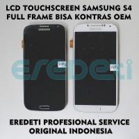 LCD TOUCHSCREEN SAMSUNG S4 FULL FRAME BISA KONTRAS OEM KD-002243