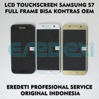 LCD TOUCHSCREEN SAMSUNG S7 FULL FRAME BISA KONTRAS OEM KD-002244