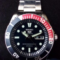 Seiko 5 Sports Automatic SNZF15, 23 Jewels, 100M