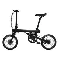 Xiaomi QiCycle Sepeda Elektrik Lipat Smart Bicycle - Black