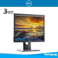 Monitor LED HD Dell P1917S 19 Inch HDMI Port Original NEW
