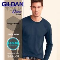 Kaos Polos GILDAN Premium Long Sleeve (Original)