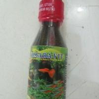 makanan ikan cupang guppy kecil betta vit super armada Murah