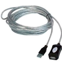 KABEL USB 2.0 EXTENSION MALE - FEMALE 5 METER ACTIVE w BOOSTER