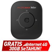 Modem Smartfren Andromax M3Y (Paket Data MiFi 30 GB)