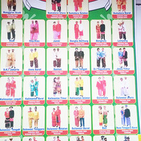 poster gambaran pakaian adat 34 provinsi indonesia