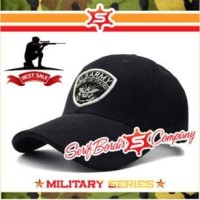 Topi Baseball ARMY Tactical Us Army Tactical Tank Rusia Black Sport