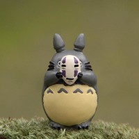 mini action figure my neighbor totoro, studio ghibli, PVC totoro