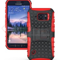 Samsung Galaxy S6 Active G890 - 2in1 Hybrid Armor Hard Soft Case