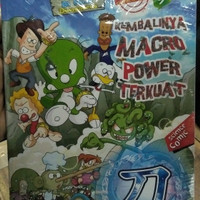 Buku science comik kembali nya makro power terkuat