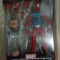 Marvel Legends Scarlet Spider baf Rhino