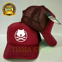 Topi trucker something terlaris - tisha store