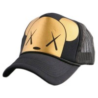 Topi Baseball Dog Design - Golden