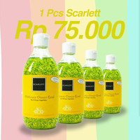 scarlett whitening shower scrub by felicya angelista