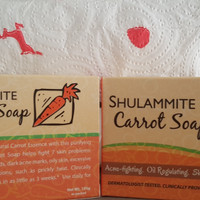Shulammite Carrot Soap