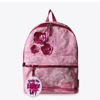 Tas Anak Lampu - Skechers Backpack Twinkle Toes Light Up Pink Original