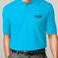 Fashion / Atasan / Polo Shirt / BANK BTN LOGO