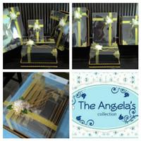 Kotak / Box Hantaran seserahan warna Hitam + Gold