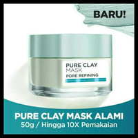 sale loreal paris pure clay porerefining mask 50 ml