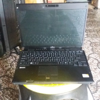 laptop fujitsu lifebook core 2 duo bergaransi