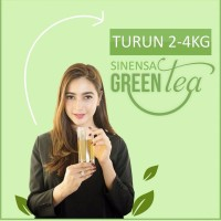 Sinensa Green Tea Herbal - Teh Pelangsing Sinensa