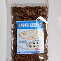 Kroto super Kering 15 gram pakan lolohan cucak rowo dan murai