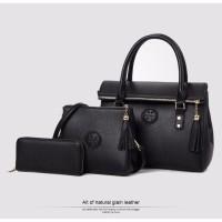 Tas Wanita Handbag Lipat Rumbai Korea JOOZ TASSEL Paket 3in1 HC 2