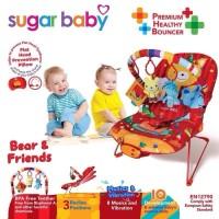 Sugar Baby PREMIUM HEALTHY BOUNCER 3 RECLINE Bear & Friends Sugarbab