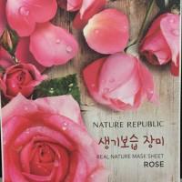 Nture Republic Real Nature Mask Sheet Rose