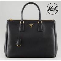 9daa81d80b08 Tas Wanita Prada/Prada Classic Saffiano Hitam/Sling Bag/Hand Bag