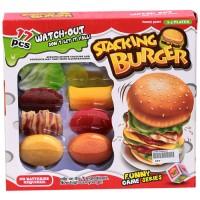 Permainan memasak Funny Cook Stacking Burger