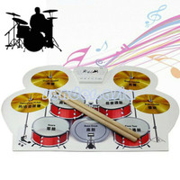 Portable Roll Up Drum Kit