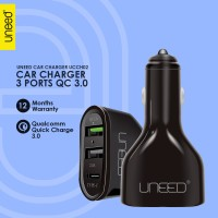 Uneed Qualcomm Quick Charge 3.0 Car Charger With USB Type C - UCCH02