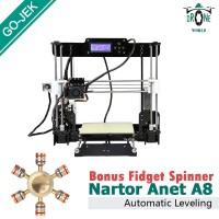3D Printer Prusa I3 DIY DESKTOP PRINTER Automatic Leveling Anet A8