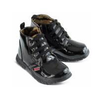 Sepatu Anak Boots Kulit - Sepatu Anak Balita Dan Junior Gf - Sepatu Bo