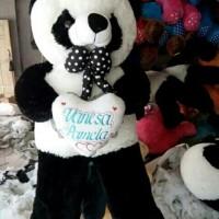 Ukir nama pada Boneka panda Jumbo hadiah menarik