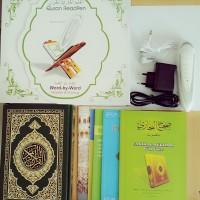 Al Quran Digital PQ 15 ENMAC Buku Mengaji With Reader Pen Canggih