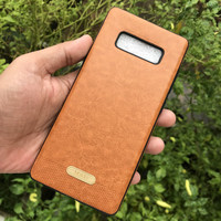 Leather Stitching Premium Case For Samsung Note 8