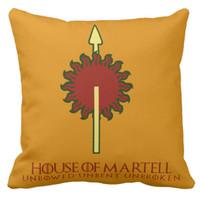 Bantal Kotak Game of Thrones: House Martell