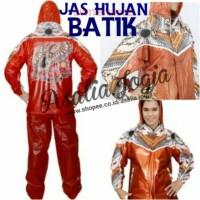 AE551 Jas Hujan Batik - Jaket Celana Hujan Batik Indoplast